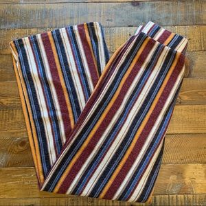 Forever 21 Striped High Wasted Wide Leg Pants